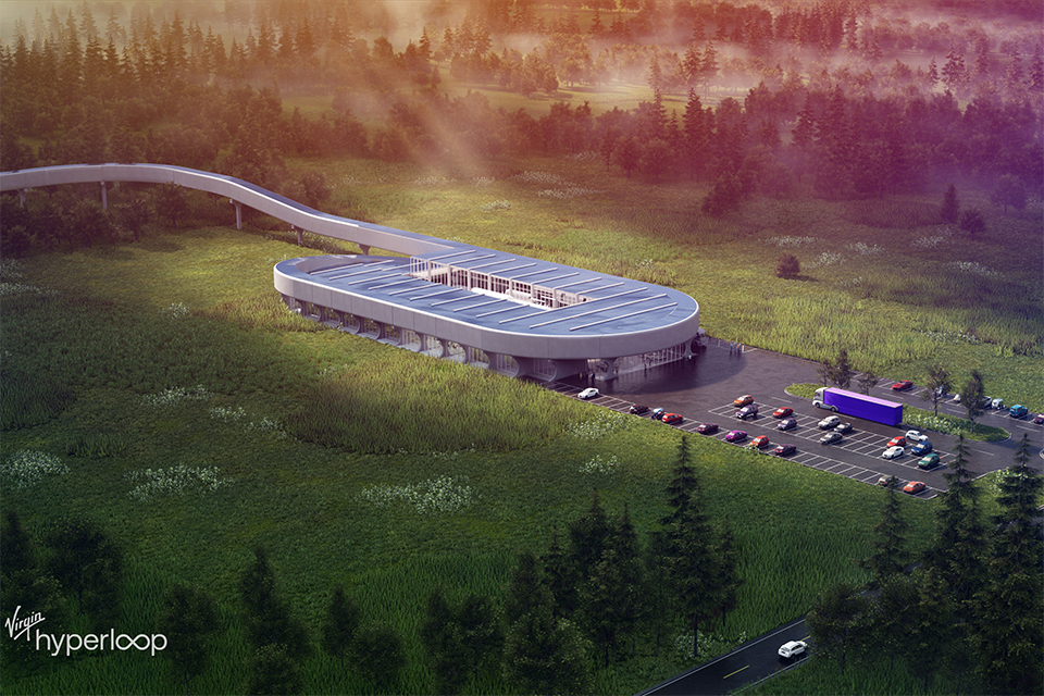 Virgin Hyperloop announced Thursday, Oct. 8, that it will locate a certification facility on nearly 800 acres of land spanning Tucker and Grant counties where it will leverage intellectual capital and resources from West Virginia University, Marshall University and from across the state.