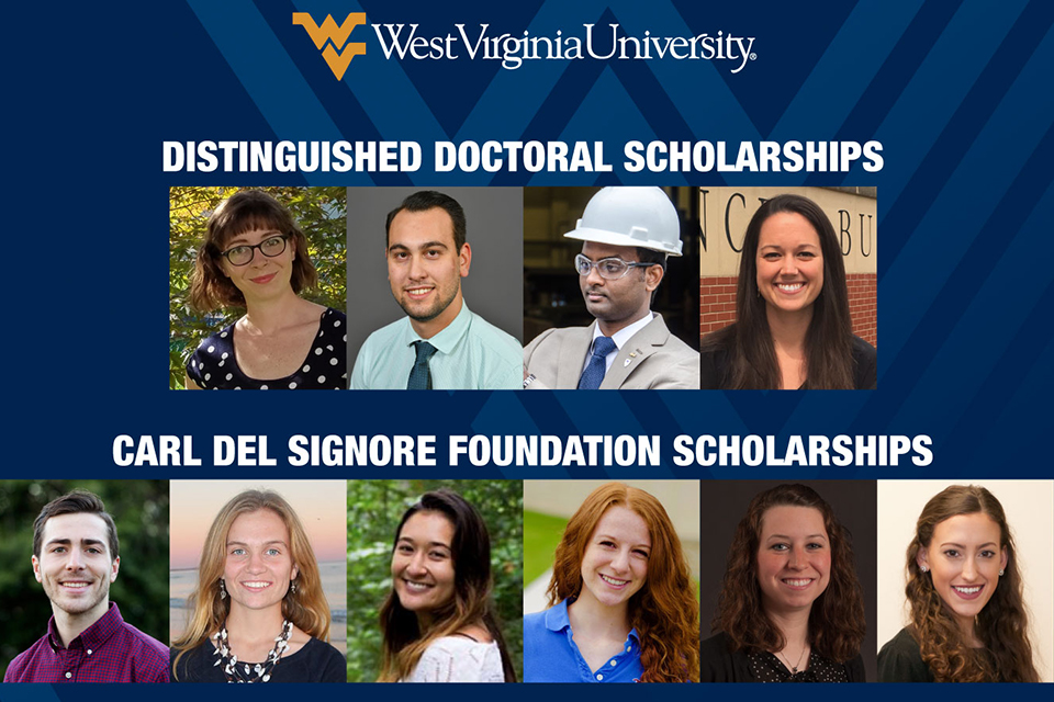 WVU Foundation Graduate Scholarship Recipients