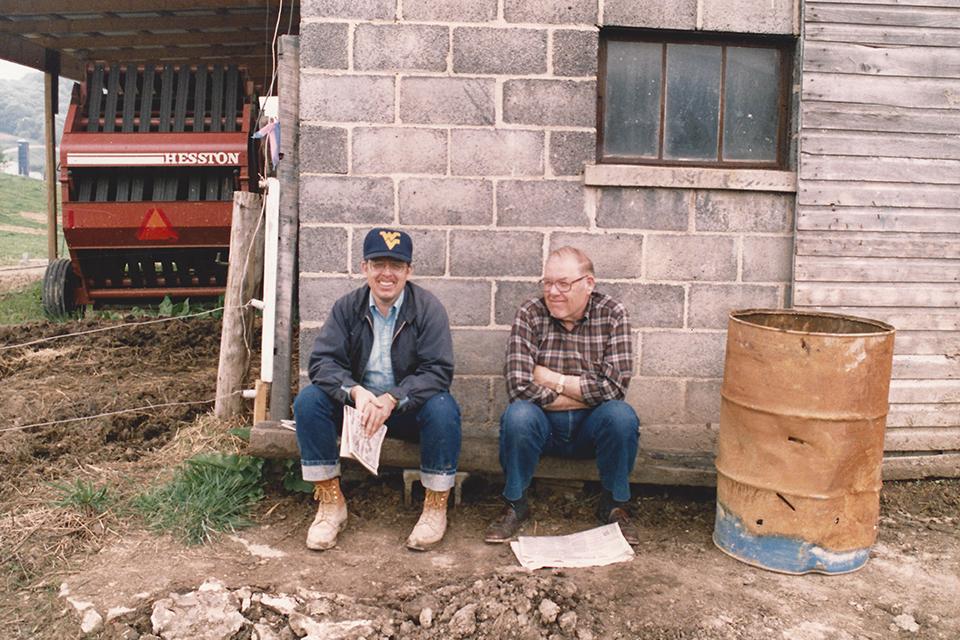 Ron and Morris Hayhurst