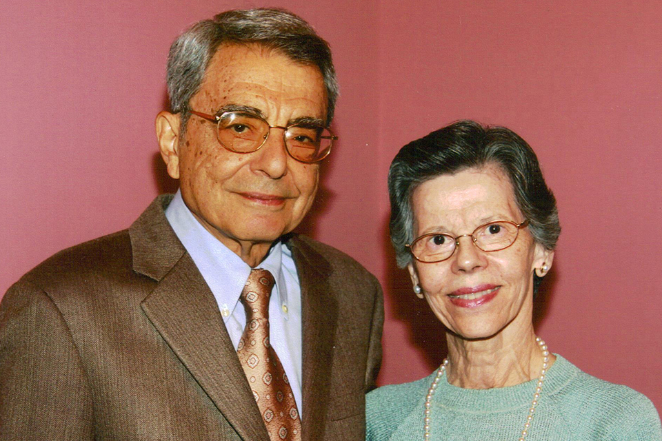 James and Catherine Eliades Faller donate a $1.7 million legacy gift for chemical engineering students in need.