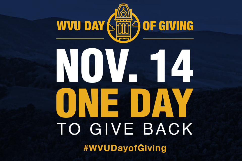 WVU Day of Giving on November 14
