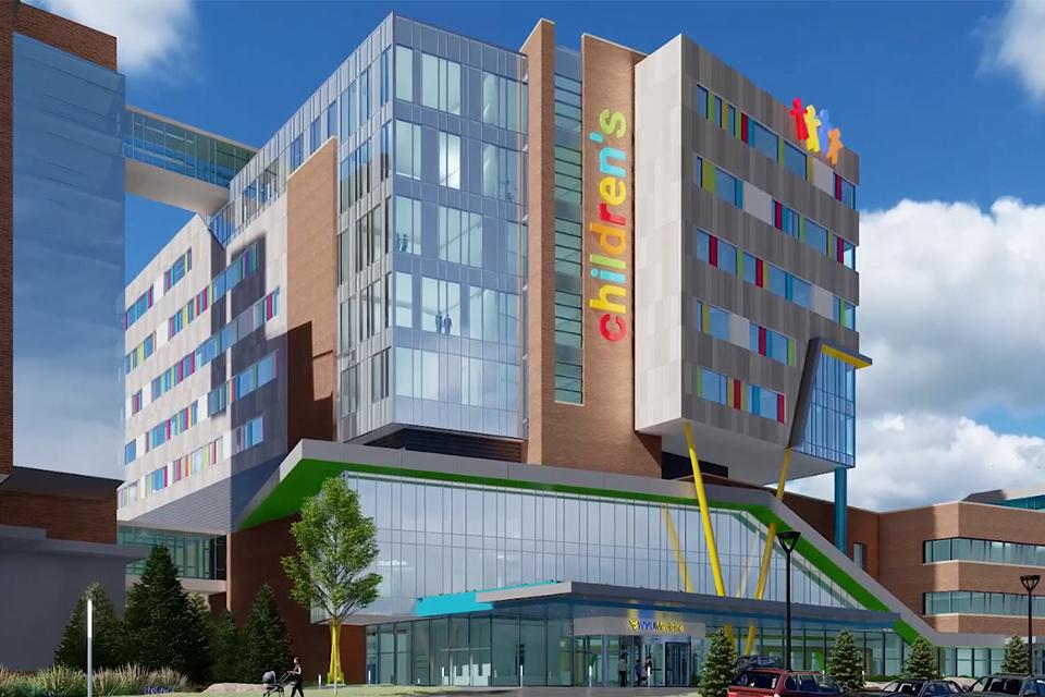 The new WVU Medicine Children's Hospital