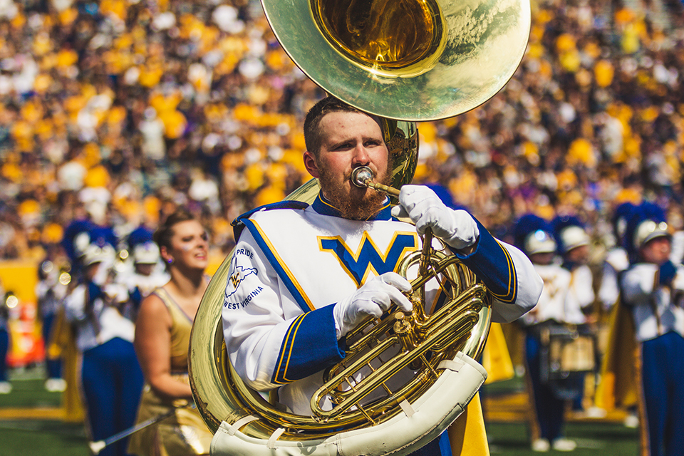 Alumni and friends of West Virginia University and the Mountaineer Marching Band are being asked to help the band travel this fall.