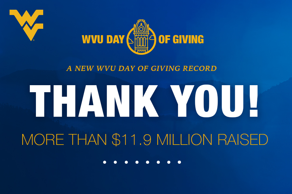 Thank You! More than $11.9 million raised