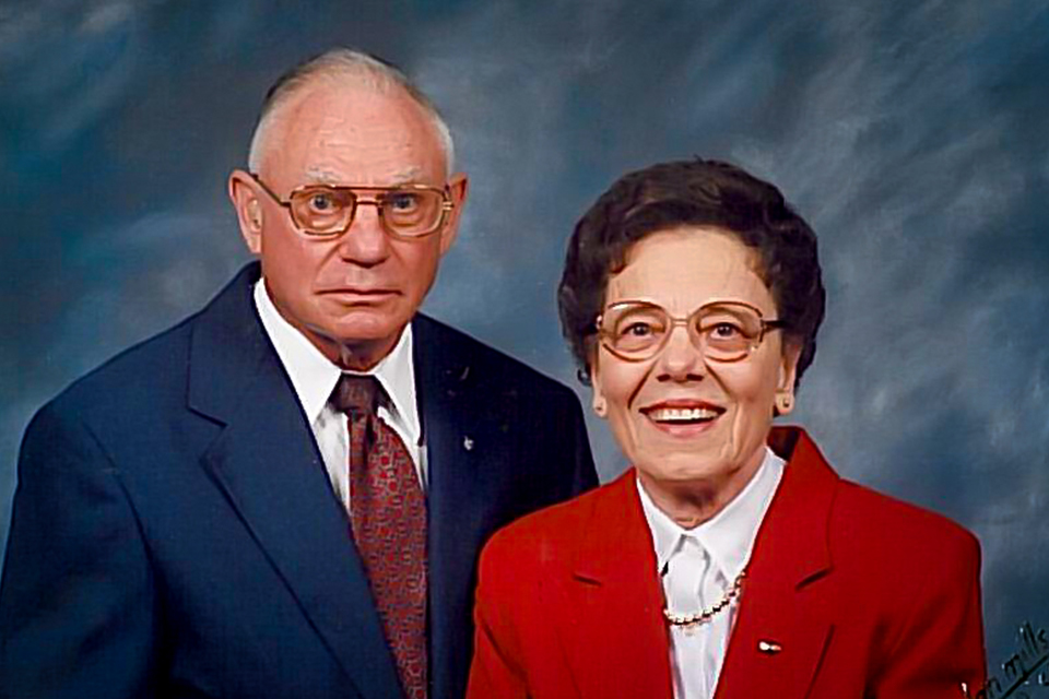 Forrest and Barbara Coontz