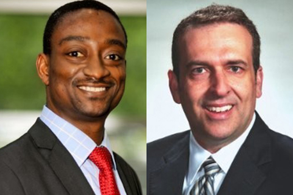 Olaolu Adekunle and Robert Johnson have been elected to the WVU Foundation Board of Directors.