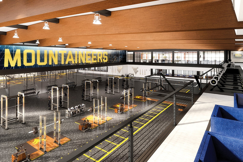 A $10 million gift from the Hazel Ruby McQuain Charitable Trust will build an Athletics Performance Center at the WVU Coliseum Sports Complex.